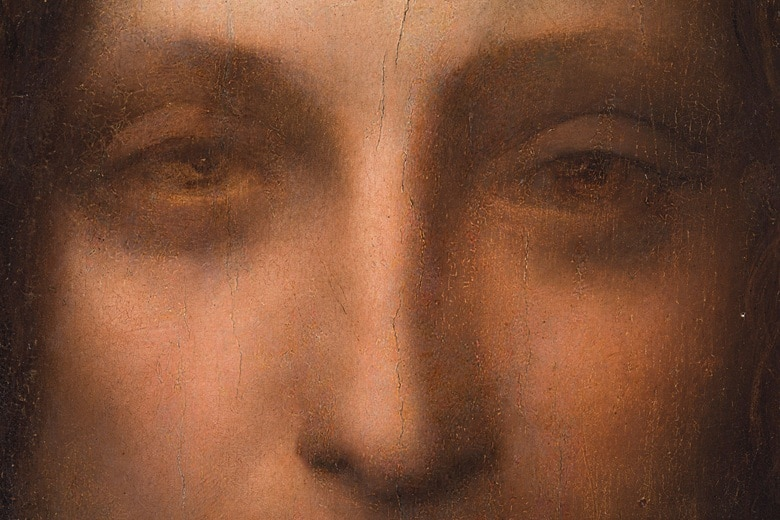 Salvator-Mundi Close Up