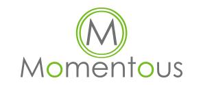 Momentous logistics logo