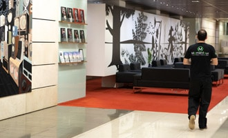 Corporate art collections fine art logisitics and installation services