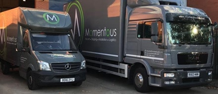 Storage and delivery to your event